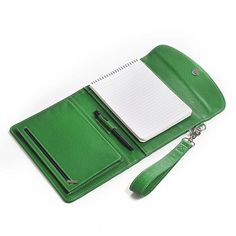 Leather Clutch Case With Wrist Strap and Pocket for Google Nexus Tablet