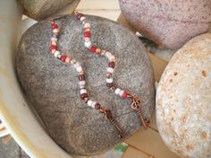 Boho Style Antique Copper Wavy Wire Beaded by Beads4You2008