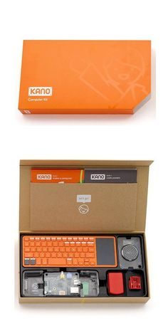 The Kano computer enables users of all ages assemble a computer from scratch, and learn basic coding skills.