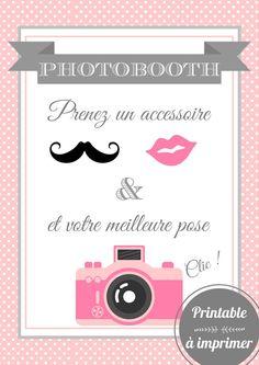 Affiche photobooth à imprimer par SweetyCreations sur Etsy