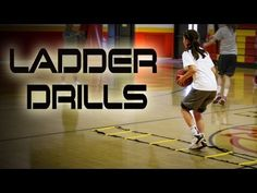 ▶ Quick Feet Training With Ladder Drills - Girls Basketball - YouTube