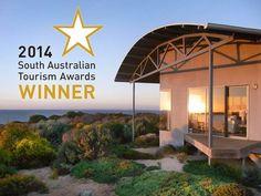 Yondah Beach House, a Foul Bay House Wind Turbine, Beach House, Tourism, Australia, Patio, Places, Outdoor Decor, Travel, Home Decor