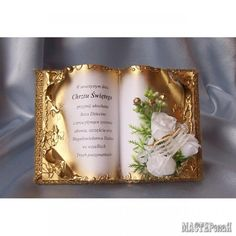 Diy Gift Box, Old Books, Anniversary Gifts, Decoupage, Cross Stitch, Frame, Crafts, Inspiration, Angeles