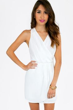Tink Wrap Dress ~ White