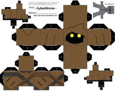 Star Wars Custom Cubeecraft Templates by CyberDrone on deviantART
