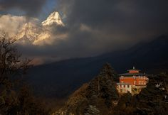 [Nepal] The Edge of Nirvana by *michaelanderson on deviantART