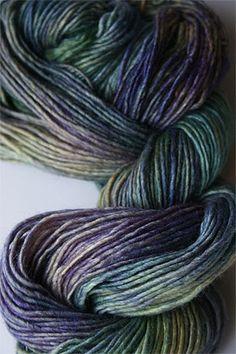 You had me at Malabrigo. Malabrigo Silky Merino yarn in Indicieta
