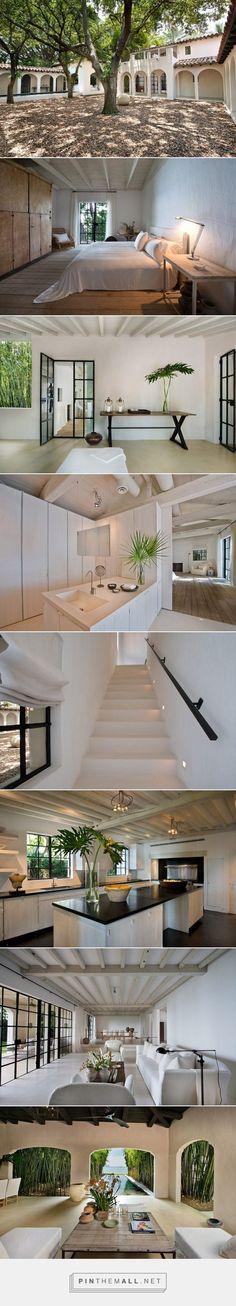 Calvin Klein's beach house | #interiors