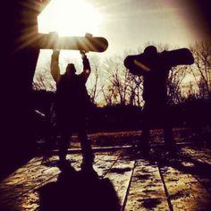 Vermont: Open to snowboarding #killingit