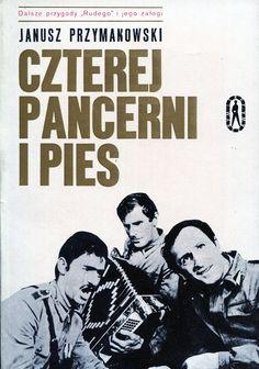 """""""Czterej pancerni i pies"""" Janusz Przymanowski Cover by Jan Bokiewicz Book series Seria Kieszonkowa Iskier"""