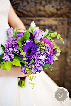 Possibly the prettiest ever, a blend of hydrangea, lisianthus, jasmine foliage, hosta leaves and roses.