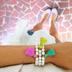 Cute tassel bracelets!