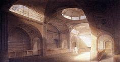 Sir John Soane. Bank Stock Office, Bank of England 1792 #architecture