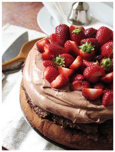Flourless chocolate cake http://sweetheartsweets.blogspot.com/2014/06/gastrosfera-cokoladna-torta-bez-brasna.html