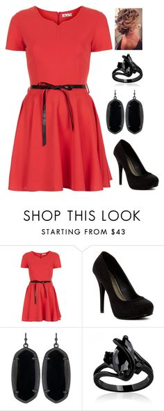 """""""Untitled #2971"""" by sarah-michelle-steed ❤ liked on Polyvore featuring WalG, Michael Antonio and Kendra Scott"""