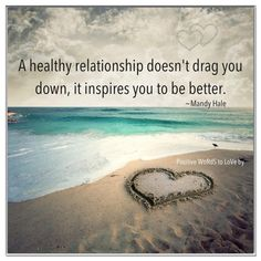 healthy relationship - Have you ever had a relationship/friendship that was unhealthy? Currently involved in one? Can you compare that to a healthy relationship you've been in or are in now? If you can't write about yourself, you can write about a friend or family member. Write at least 6 sentences.