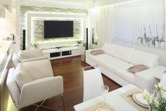 Jasny salon: 10 pięknych wnętrz z polskich domów  - zdjęcie numer 1