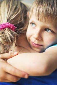 Don't Make Your Child Kiss or Hug Relatives