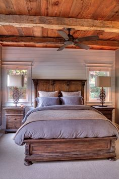 You couldn't decide which one to choose between rustic bedroom designs? Are you looking for a stylish rustic bedroom design. We have put together the best rustic bedroom designs for you. Find your dream bedroom designs. Farmhouse Style Master Bedroom, Modern Bedroom, Home, Bedroom, Bedroom Sets, Remodel Bedroom, Dream Bedroom, Master Bedrooms Decor, Home Bedroom