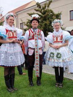 Lukovanský kroj jižní morava - costumes South Moravia, Czech republic