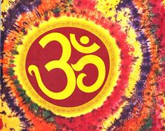 Hippie OM Tapestry, Spritual OM Tapestry, Indian Bohemian Wall Hanging, Indian OM printed Bedcover, Decorative Table Runner, Dorm Wall Decor