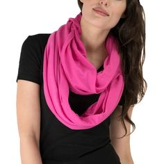 Le Nom Solid Soft Touch Infinity Scarf | Overstock.com Shopping - The Best Deals on Scarves
