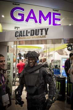 Call of Duty: Advanced Warfare midnight launch at Game, Westfield Stratford Field Marketing, Direct Marketing, Advanced Warfare, Call Of Duty, Pop Up Stores, Cod, Gaming, Product Launch, Retail