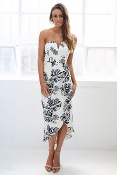 sonya dress - cream print