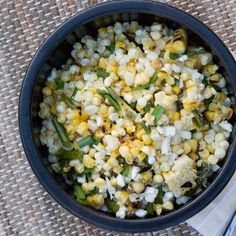 Grilled Corn and Garlic Scape Salad recipe on Food52