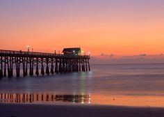 The Cocoa Beach Pier. I have walked on this pier many times sooo relaxing!