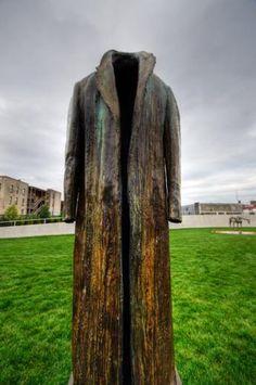 POST BALZAC, 1990. Pappajohn Sculpture Park. Des Moines Iowa. Super intriguing piece!