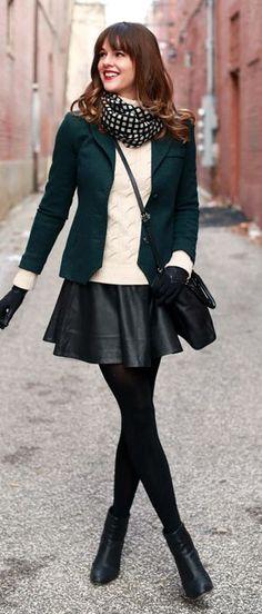 Como usar - Looks de inverno com saia ~ Sophia Abrahão