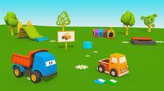 Cartoni Animati per bambini - Leo e il Pickup  Ecco un nuovo episodio di Leo! Il Camion Curioso!  Oggi Leo ci farà vedere come si costruisce un pickup un veicolo a motore che fa parte degli autocarri, la sua caratteristica principale è la presenza di un cassone abbastanza ampio che permette di trasportare molti oggetti.