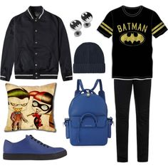 Batman look