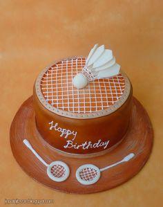 Badminton cake   Flickr - Photo Sharing!