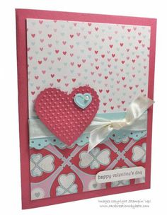 Valentine's Day Card by mcalexab - Cards and Paper Crafts at Splitcoaststampers