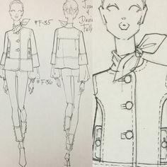 Designs for Joan & David RTW Japan 2013