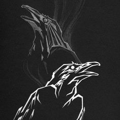 Odin& ravens Hugin and Munin.next tattoo mayhaps. Norse Runes, Norse Symbols, Norse Mythology, Hugin Munin Tattoo, Corvo Tattoo, Atlas Tattoo, Parrot Tattoo, Thor, Rune Tattoo