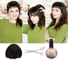 Hannah Johnson Tests The Mini Bang Trend 2013 - FLARE
