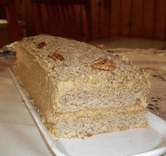 See related links to what you are looking for. Hungarian Desserts, Hungarian Recipes, Hungarian Food, Poppy Cake, Cake Fillings, Almond Cakes, Cake Cookies, No Bake Cake, Fall Recipes