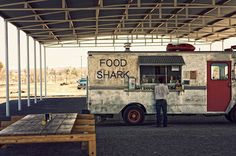 A gem of a #foodtruck photo. Somewhere out there, way, way out there, there may be a truck serving up some tasty grub.