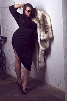Plus size fashion  Likes | plus size fashion  I would totally wear this ! Bbw big beautiful women / ladies / curvy / yummy / yumms! Fashion styles BANG!!
