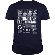Awesome Tee For Automotive Electrician T-Shirts, Hoodies. GET IT ==►…