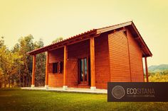 Wooden house in the Serra da Gardunha www.ecositana.pt
