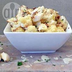 Recipe photo: Roasted garlic cauliflower