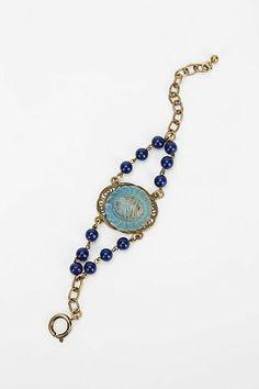 Lux Revival Deco Scarab Bracelet