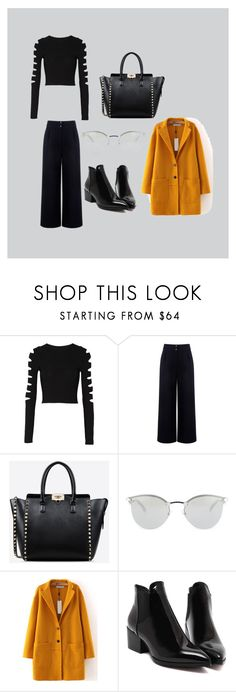 Work or play by jessica-h-barkley on Polyvore featuring Cushnie Et Ochs, Être Cécile, Valentino and Fendi