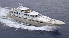 The 47.24 metre Christensen superyacht Abbracci has been given a $750,000 price reduction at Moran Yacht & Ship
