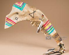 "Mission Del Rey Southwest - Native Cheyenne Indian Jawbone Tomahawk 15""(http://www.missiondelrey.com/native-cheyenne-indian-jawbone-tomahawk-15-t153/)"