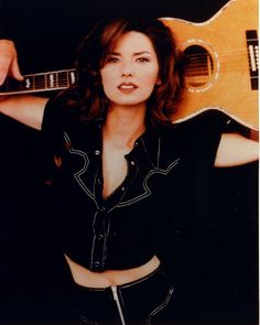 Shania Twain Guitar - Country Music Photo Shoot - Celebrity Photography